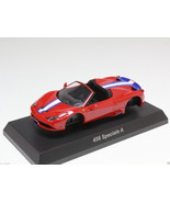 KYOSHO DIECAST CAR FERRARI COLLECTION 12 458 SPECIALE A DEEP RED 1/64 JAPAN - $12.99