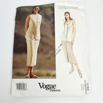 Vogue 1163 Calvin Klein Skirt Top Pattern Size 12 14 16 Pattern Uncut ❤️ - $17.59