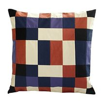 [Color Fusion] Handmade Unique Grid Cushion Cover 48CM - $20.33