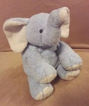 "TY Pluffies blue cream WINKS the ELEPHANT Plush stuffed animal 11"" 2006 - $22.35"