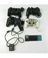 4 PlayStation 2 Dualshock 2 Controllers +  4 Memory Cards + NAKI Auto RF... - $79.99