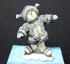 Boyds Bear Snowfolks Triple Clutz #36529 with Box 2E - $17.41