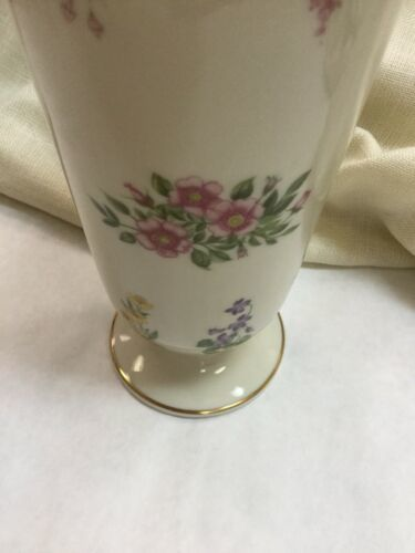 1992 Colorful Floral Lenox Limited Edition Vase THE CONSTITUTION VASE 8.5 Inch image 3