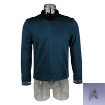 Star Trek Discovery 2 Science Commander Evan Connolly Blue Costume w/Badge - £32.67 GBP