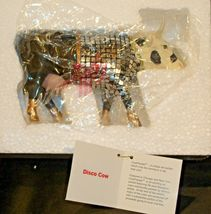 CowParade Disco Cow Item # 9134 Westland Giftware AA-191942 Vintage Collectible image 3
