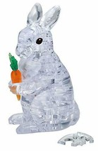*43 piece Crystal puzzle Rabbit clear - $35.70