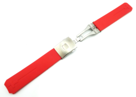 Red Rubber Silicone Strap Band for Tissot Sport Watch T-Touch 20mm With ... - $26.98+