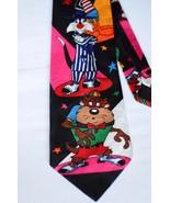 Looney Tunes Mania Warner Bros Neck Tie Necktie Taz Sylvester Daffy Bugs... - $24.74