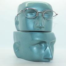 Petite Semi Frameless Bottomless Hint Of Tint Pink +1.00 Reading Glasses image 3
