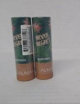 Set of 2: Almay Lip Vibes Lipstick, 210 Never Regret Factory Sealed - $9.89