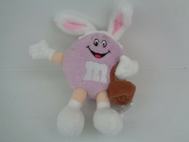 """M&M'S PLUSH Purple Candy Advertising Character Toy 6.5""""M&M World Collec... - $9.89"""