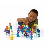 Soft Building Blocks Kids DIY Pop Squigz Sucker Funny Silicone Block Mod... - $18.80+