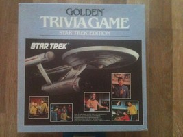 Golden Trivia Game Star Trek Edition  Used - $7.99