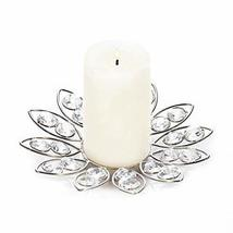 Gallery of Light Crystal Clear Candle Holder, Decorative Glass Candle Ho... - £14.10 GBP