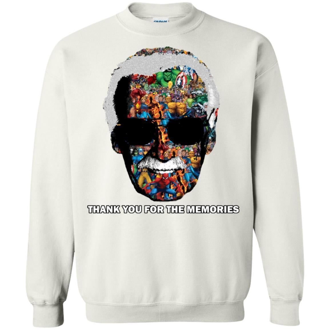 Thank You For The Memories Tee Shirt  - Inspired By Stan Lee Sweatshirt - Super image 7