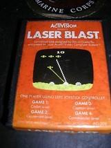 1981 Atari Activision Video Game Laser Blast - $9.89