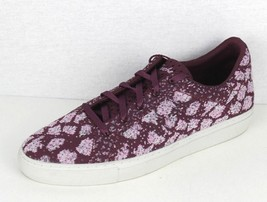 Skechers Air Cooled memory foam women's sneakers burngundy lace size 9 - $32.32
