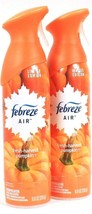 2 Febreze 8.8oz Limited Edition 100% Natural Fresh Harvest Pumpkin Air R... - $16.99