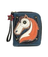 Charming Chala Magestic Horse Purse Wallet Credit Cards Coins Wristlet - $30.00