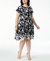 Jessica Howard Women's Plus Floral Fit & Flare Casual Dress 20W  #1246 - €36,24 EUR