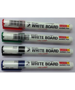 White Board Marker  4 color set  Blue / Black / Red / Green  White Board... - $5.55