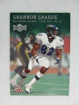 Shannon Sharpe Baltimore Ravens 2000 Fleer Metal Football Card 36 - $0.98