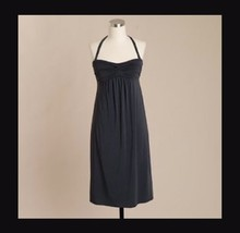 NWT J.CREW Dressy Jersey Strapless Dress in Gray, Size Small - $19.99
