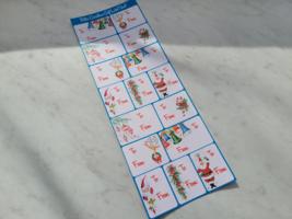 Retro Christmas Gift Label Sheet image 3