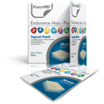 PatchMD Endurance Max Plus - Topical Patch (30 Day Supply) - EXP 2022 - $16.45