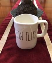 "RAE DUNN BY MAGENTA ""ON FLEEK"" MUG CUP COFFEE T... - $11.29"