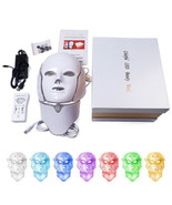 Led beauty face mask therapy skin care 7 colors facial photon acne - $49.49