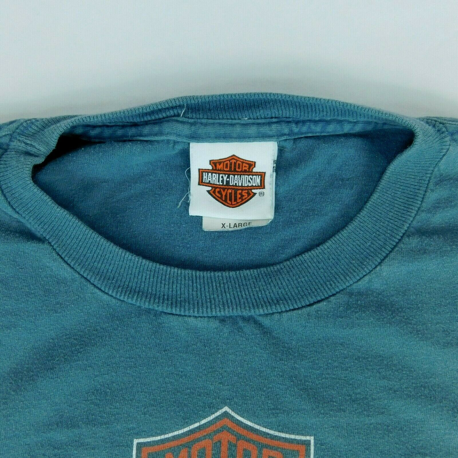 Harley Davidson Sturgis Black Hills Rally 2008 Buffalo Chip Blue T Shirt Sz XL image 7