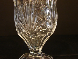 Gorgeous Heavy Crystal Vase Shannon Designs of Ireland  - $16.00