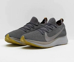 Nike Zoom Fly Flyknit Men's Running Shoes AR4561-002 Pewter Grey Sz 8 8.5 10 - $79.95+