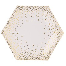 "Martha Stewart Collection ""Gold"" Tableware (Plates Napkins) (SERVES 10)* - $48.37"