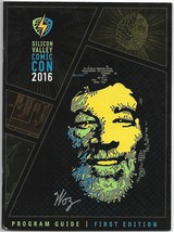 SVCC Silicon Valley Comicon Program 2016 Steve Wozniak Stan Lee Bill Sin... - $5.50