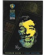 SVCC Silicon Valley Comicon Program 2016 Steve Wozniak Stan Lee Bill Sin... - $5.50