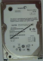 "NEW 100GB IDE ST9100828A Seagate 44PIN 2.5"" 9.5MM Hard Drive Free USA Shipping"