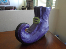 Halloween Witch's Shoe Decoration - $10.99