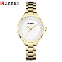 Women Watch Luxury Quartz Watches Lady Business Watch CURREN Stainless Steel Fem - $35.52