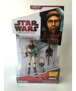 New Star Wars The Clone Wars 2009 Obi-Wan Kenobi spacesuit CW12 Backpack ZT - $34.00