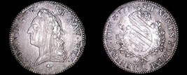 1772-L French Ecu World Silver Coin - France - Bayonne - Louis XV - $449.99