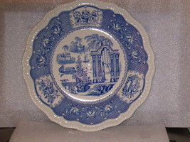 """SPODE BLUE ROOM COLLECTION """"PAGODA"""" DINNER PLATE - $20.00"""