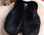 Eal fur clothes infant winter vest toddler boys girl winter waistcoat toddler faux thumb155 crop