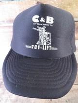 C&B Lift Truck Service Inc Trucker Snapback Adjustable Adult Cap Hat - $13.85