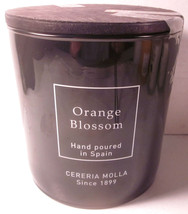 Cereria Molla Made In Spain 2 wick 24 oz Candle Orange Blossom  - $79.99