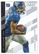 2015 Panini Clear Vision Sophomore Standouts #70 Odell Beckham Jr. NY Gi... - $4.24