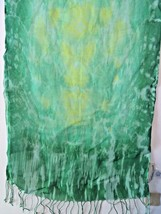 Coldwater Creek women Scarf Wrap Green color RN... - $15.90