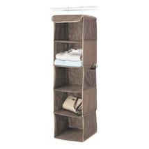 Closet Organizer Hanging Fabric Pocket Shoes Clothes Shelf Rack Room NEW - $26.89