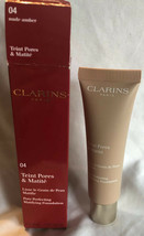 Clarins Teint Pores & Matite Pore Perfecting Matifying Foundation - 04 Nude Ambe - $12.70